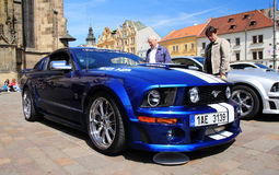 Mustang de Ford dans Pilsen Photos stock