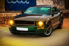 Mustang GT Bullit de Ford Fotos de Stock Royalty Free