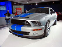 Mustang de Ford Shelby no indicador Imagens de Stock