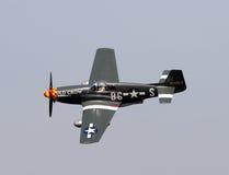Mustang de l'ère P-51 de la deuxième guerre mondiale Image libre de droits