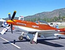 Mustang de la reproduction P-51 Photographie stock libre de droits