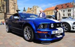 Mustang del Ford in Pilsen fotografie stock