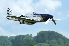 Mustang dos aviões P 51D Fotos de Stock
