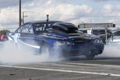 Mustang drag car Stock Image