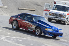 Mustang drag car Stock Image