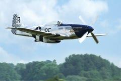 Mustang för flygplan P 51D Arkivbild
