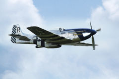 Mustang för flygplan P 51D Royaltyfri Bild