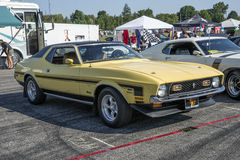 Mustang 1972 grandioso Foto de Stock Royalty Free