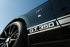 Mustang GT 350 de Shelby Images libres de droits