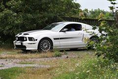 Mustang GT/CS in dorp Stock Afbeeldingen