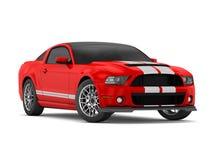 Mustang GT500 (2013) di Shelby Fotografia Stock Libera da Diritti