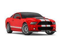 Mustang GT500 de Shelby (2013) Foto de Stock Royalty Free