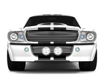 Mustang GT500 de Shelby Imagem de Stock