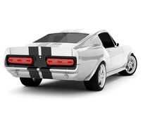 Mustang GT500 de Shelby Photo stock