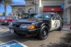 Mustang highway patrol Stock Photos