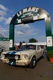 Mustang In Le Mans Paddock Stock Photography