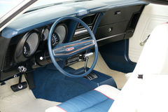 1972 mustang interior stock images