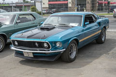 1969 mustang mach1 obrazy stock