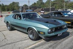 Mustang 1973 mach1 Lizenzfreies Stockbild