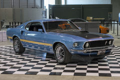 1969 mustang mach1 Stock Photography