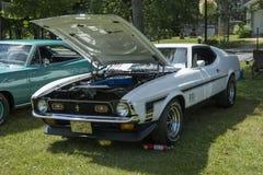Mustang mach1 Royalty Free Stock Photo
