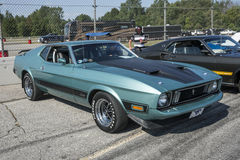 1973 mustang mach1 Royalty Free Stock Image