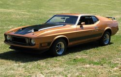 Mustang Mach1 Photographie stock