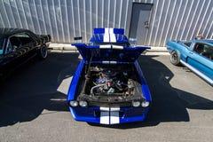 Mustang mais o Car Show 2014 do stockton Ca Imagem de Stock Royalty Free