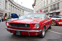 Mustang muscle car Stock Photo