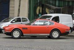 Mustang och nya bilar Royaltyfria Foton
