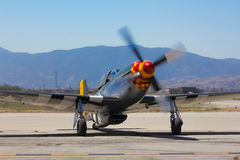 Mustang P-51 Image libre de droits