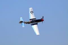 Mustang P-51 Images libres de droits