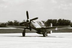 Mustang P-51 Stockbild