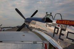 Mustang P-51 Photo stock