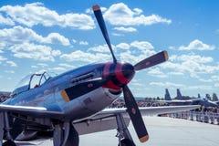 Mustang P-51 nord-américain Photos libres de droits
