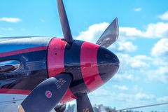 Mustang P-51 nord-américain Image libre de droits
