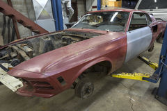 Mustang fastback rebuilt Stock Images