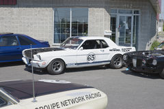 Mustang race car Stock Photography