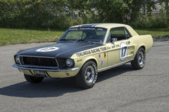 1967 mustang race car Royalty Free Stock Image