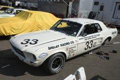 Mustang race car stock photos