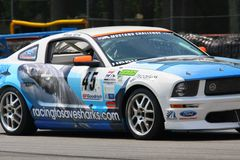 Mustang racing FR500S Royalty Free Stock Photography