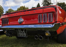Mustang rear Stock Images