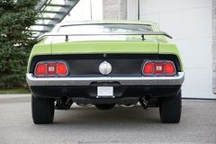 Mustang Rear End Stock Image