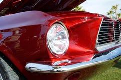 Mustang rosso Fotografia Stock
