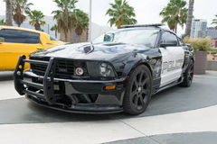 Mustang Saleen police car on display Royalty Free Stock Images