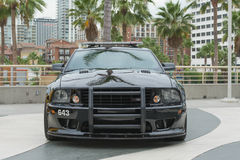 Mustang Saleen police car on display Stock Photography