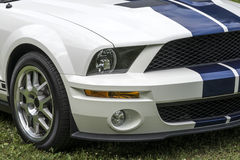 Mustang shelby front end Royalty Free Stock Photography