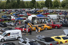 Mustang show Stock Photography