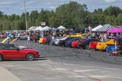 Mustang car show Stock Photo