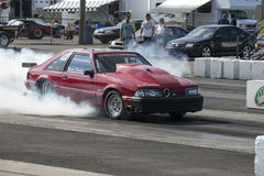 Drag racing Stock Photo